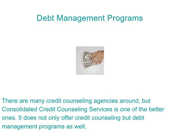 how to get out of debt counselling