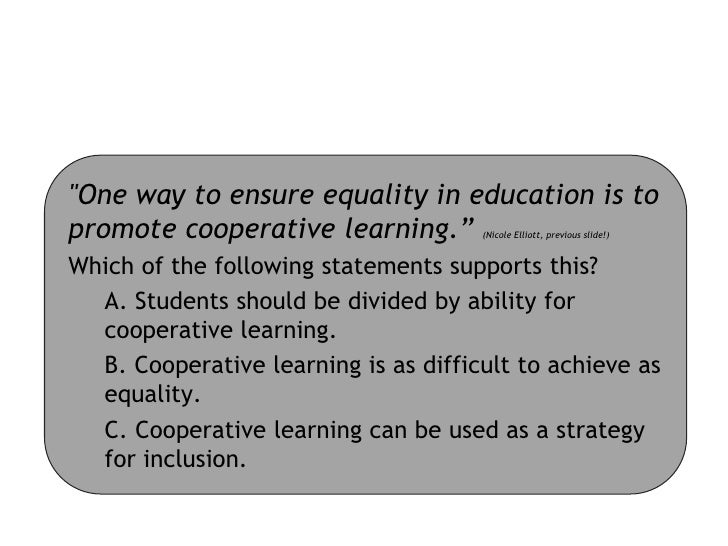 Using Cooperative Learning to Teach Mathematics to Students with Learning Disabilities