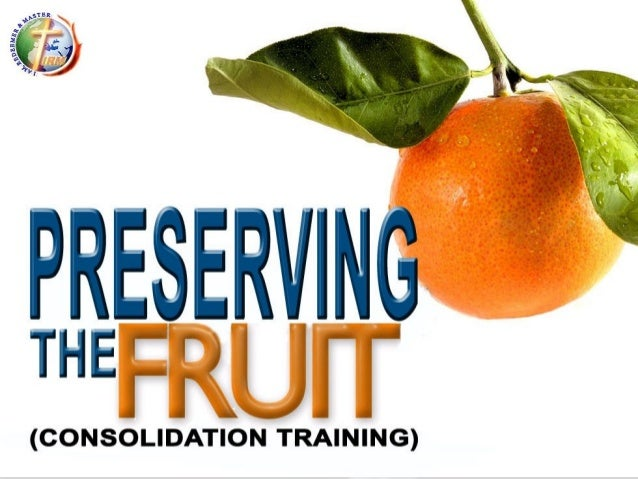 Consolidation: preserving the fruit