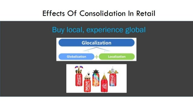 retail consolidation Retail consolidation: pakistan's retail and wholesale market is estimated at over $42 billion a year by the small published in the express tribune, july 14.