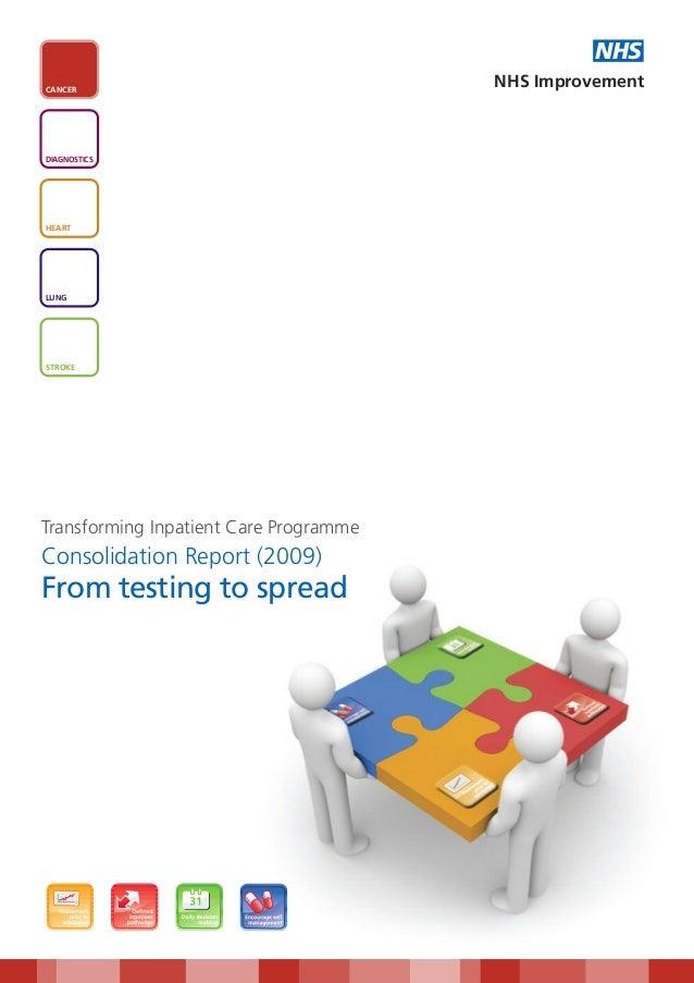 NHSCANCER                                        NHS ImprovementDIAGNOSTICSHEARTLUNGSTROKETransforming Inpatient Care Prog...