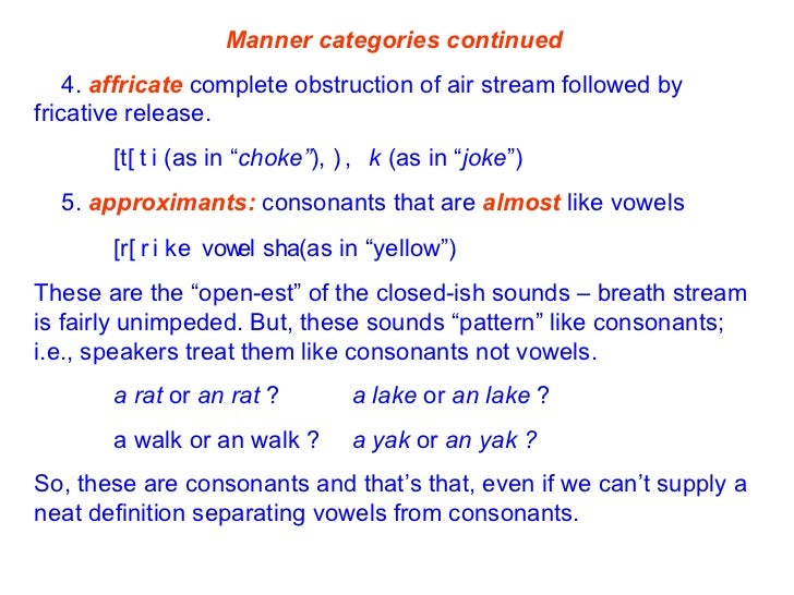 Consonants Slide 3