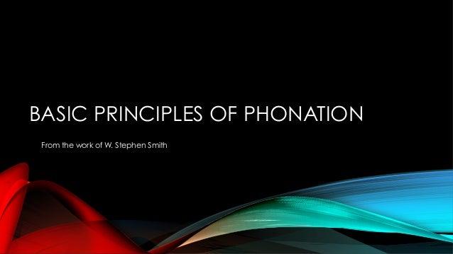 Consonants: The Key To Intonation Slide 3