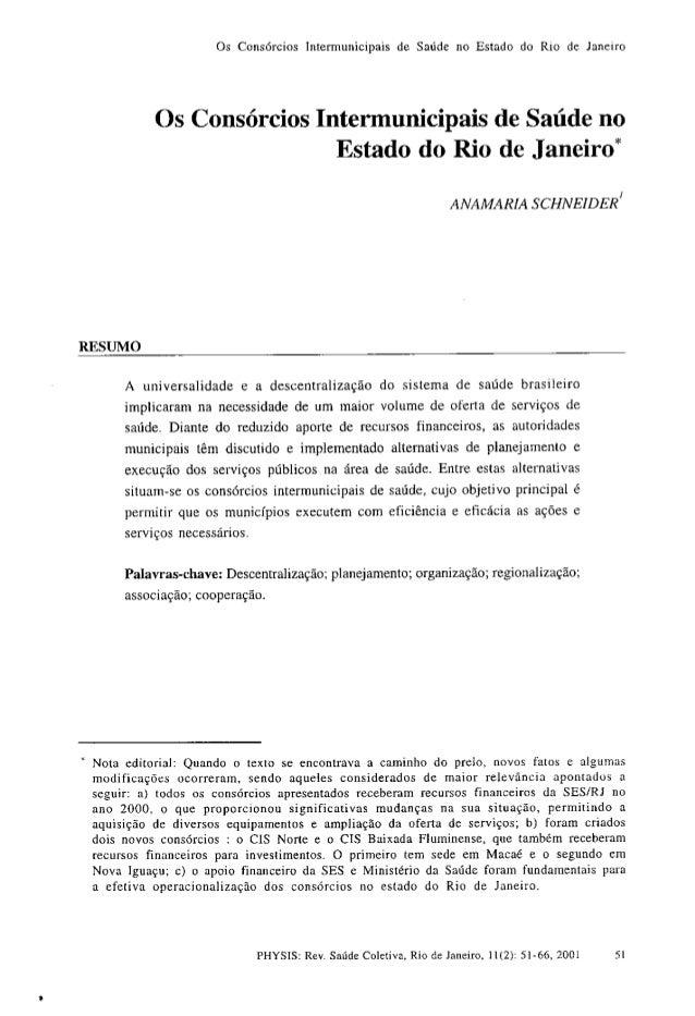 Consorcio Realiza -  Consorcios intermunicipais de saúde no estado do rio de janeiro