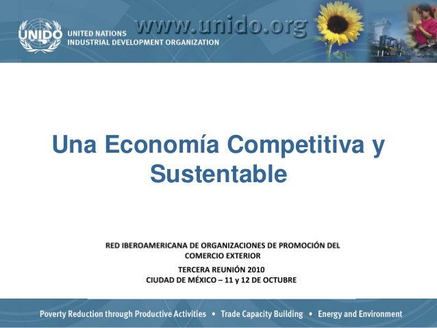 Una Economía Competitiva y Sustentable