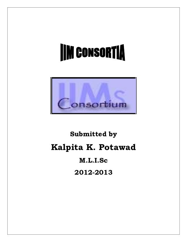 Submitted byKalpita K. Potawad      M.L.I.Sc     2012-2013