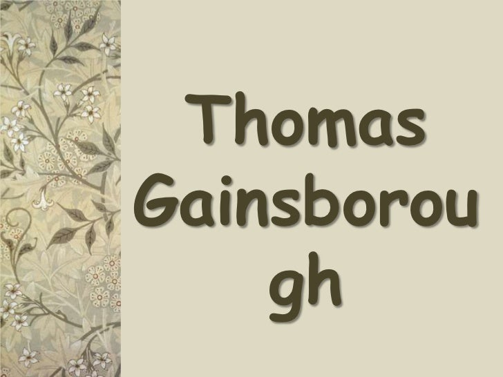 Thomas Gainsborough<br />