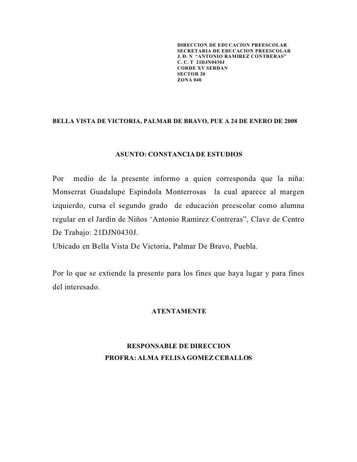 CONSTANCIA DE ESTUDIOS FORMATO DOWNLOAD