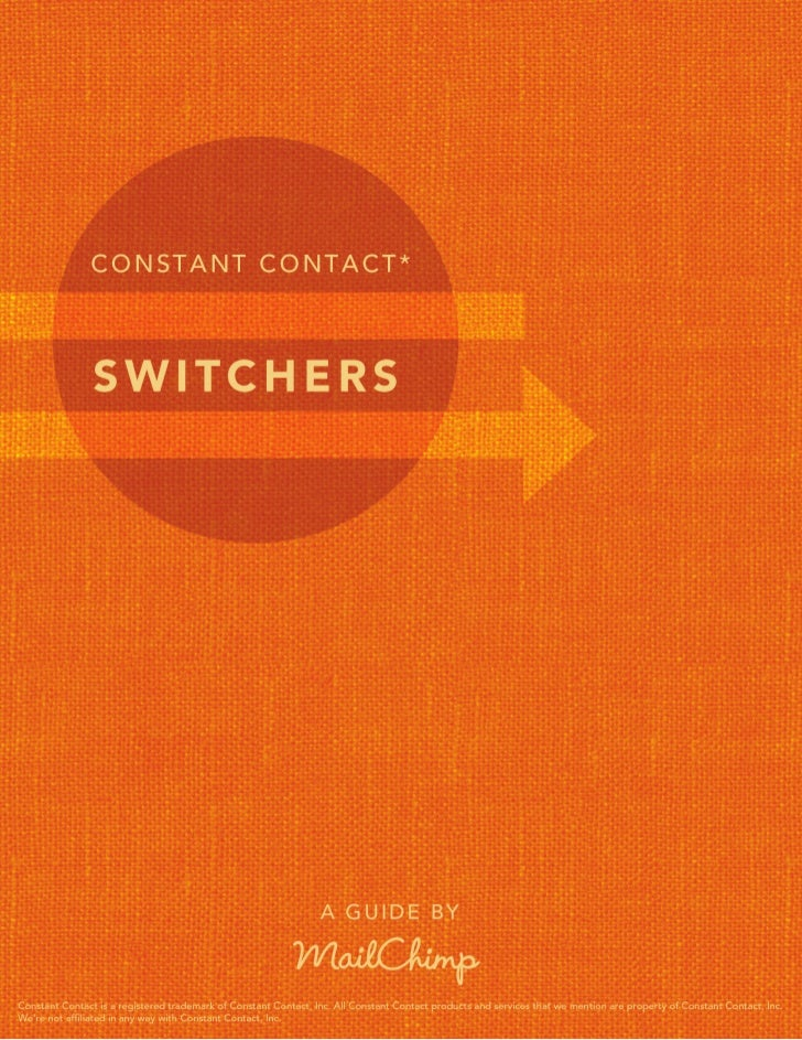 ConstantContact*Switchers Guide              1