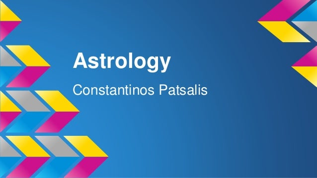 Astrology Constantinos Patsalis