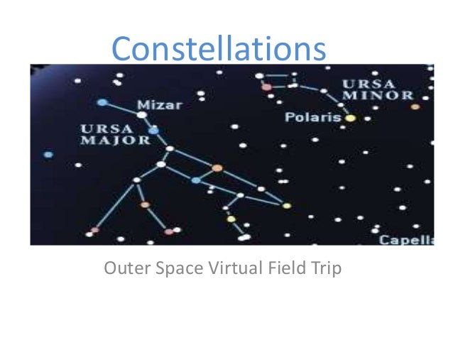 Constellations Outer Space Virtual Field Trip