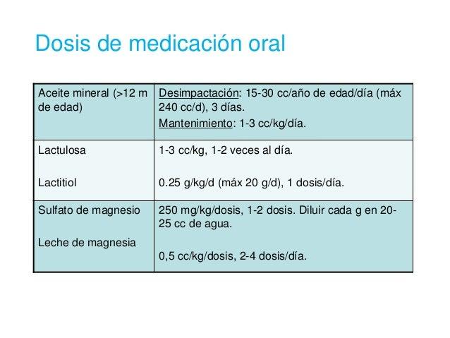 Constipacion en Pediatria