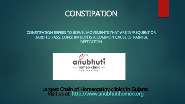 Homeopathic Medicines For Constipation Homeopathy