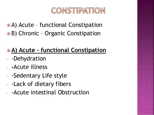 Constipation Amp Diarrhoea