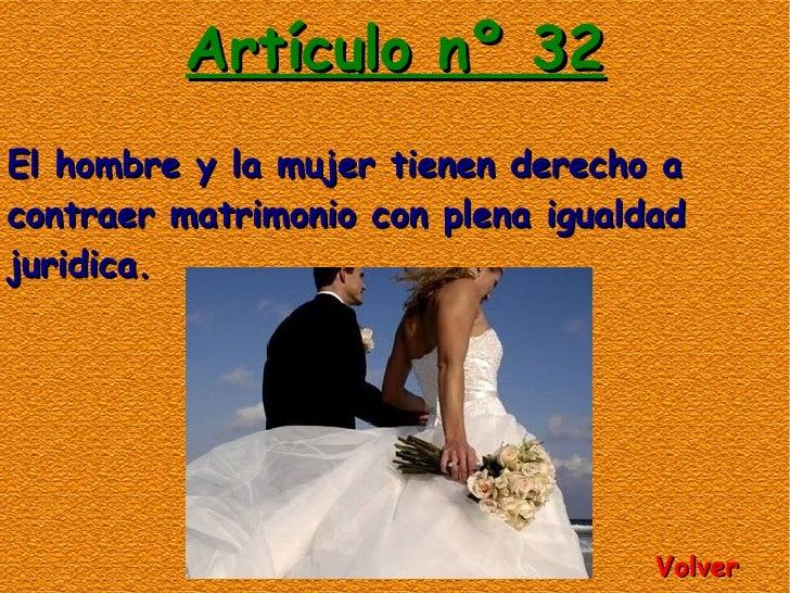 Biblia Matrimonio Hombre Y Mujer : Constitución española