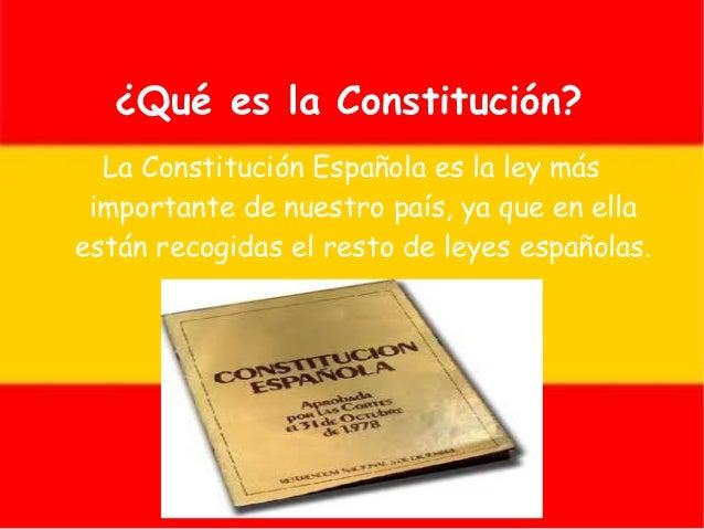 Constitución española. fran b. e iván Slide 2