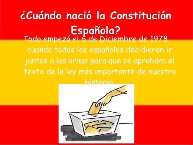 Constitución española. fran b. e iván Slide 3