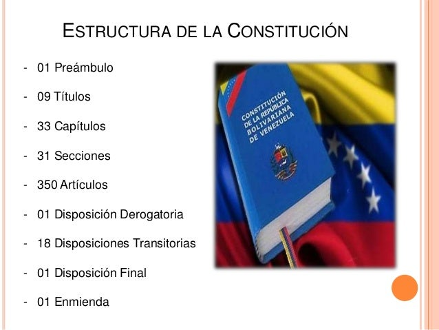 Constitución De La República Bolivariana De Venezuela Cufm