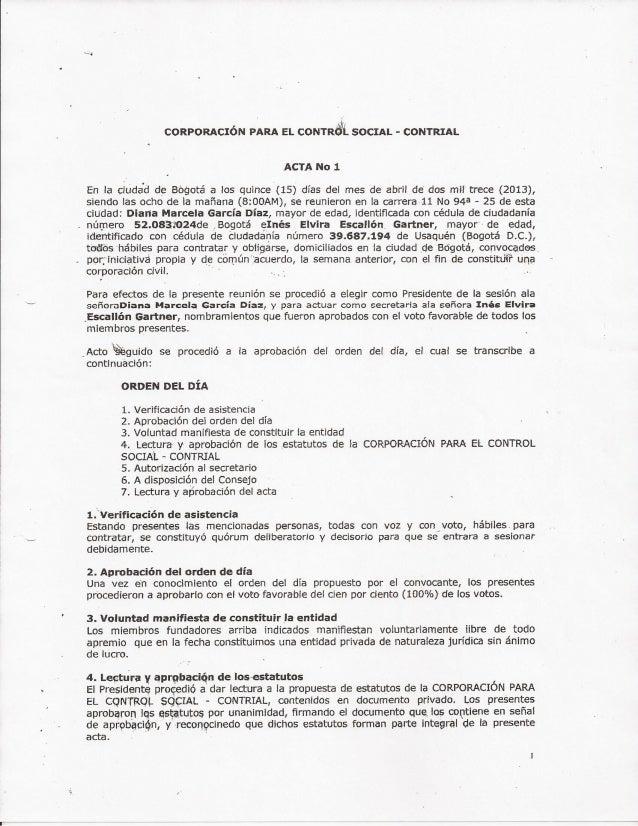 Constitución contrial