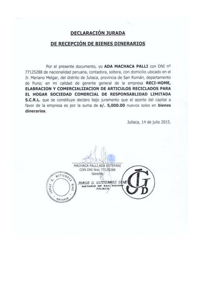 MODELO DE CONSTITUCION DE EMPRESA SRL - contabilidad de sociedades
