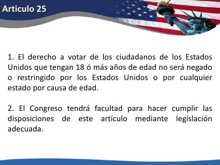 Articulo 22<br />Nadie podrá ser elegido más de dos veces para el cargo de presidente, y nadie que haya ocupado el cargo d...