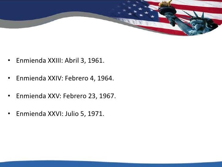 Enmienda XIII: Diciembre 18, 1865.