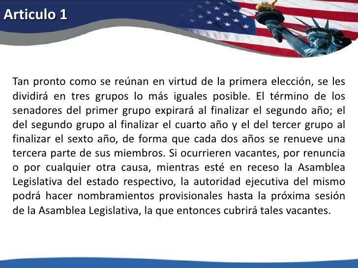 Articulo 1<br />Tan pronto como se reúnan en virtud de la primera elección, se les dividirá en tres grupos lo más iguales ...