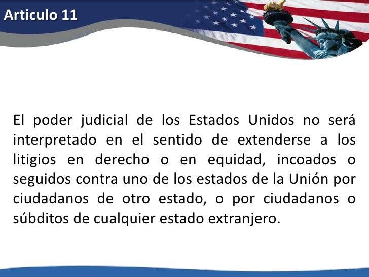 Articulo 2<br />Siendo necesaria para la seguridad de un Estado libre una milicia bien organizada, no se coartará el derec...