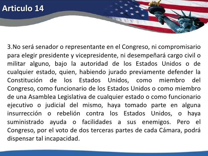 Articulo 10<br />Las facultades que esta Constitución no delegue a los Estados Unidos, ni prohíba a los estados, quedan re...