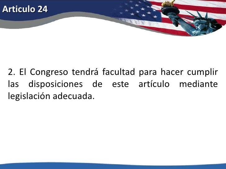 Articulo 20<br />1. El término del presidente y vicepresidente expirará al mediodía del vigésimo día de enero, y el de los...
