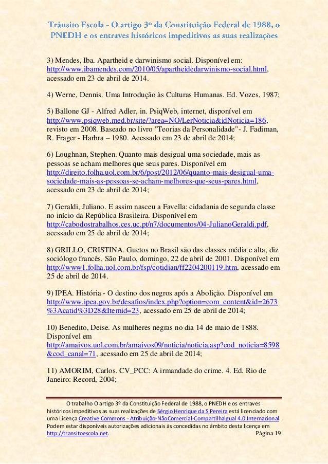 Artigo 19 da constituicao federal
