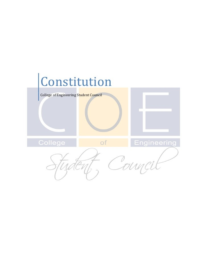 Constitution College of Engineering Student Council