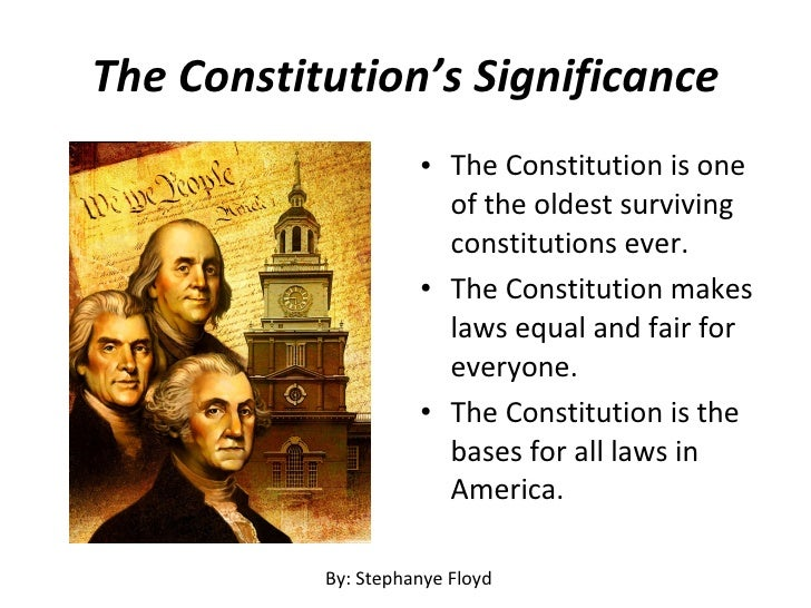 significance of the constitution as to Patriation of the constitution although such practice was a matter of convention rather than law, the court argued that such conventions are of great significance.