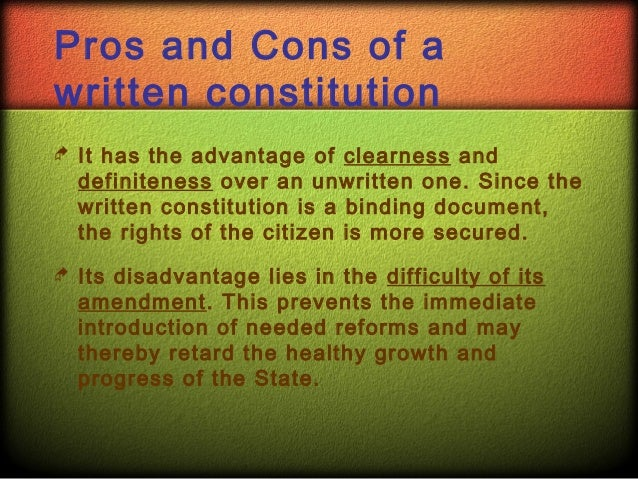 The strengths of the uk constitution essay