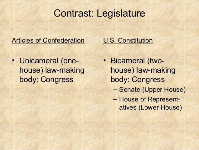 the articles of confederation versus the The continental congress adopted the articles of confederation, the first constitution of the united states, on november 15, 1777 however, ratification.