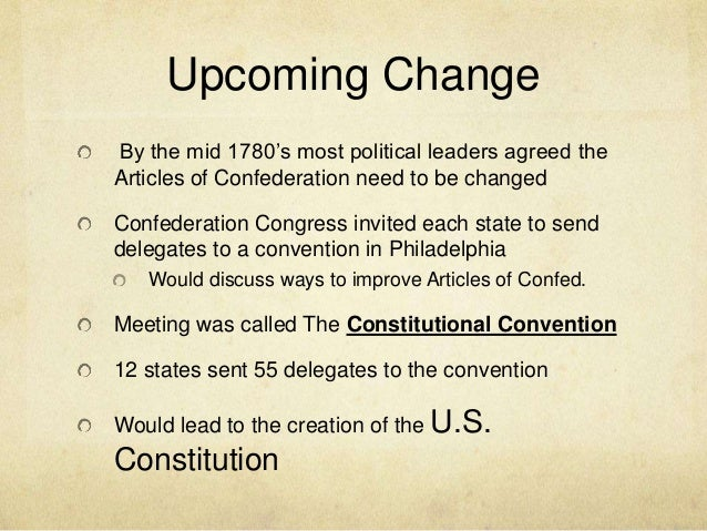 how performed your content with confederation guide to make sure you the actual constitutional convention