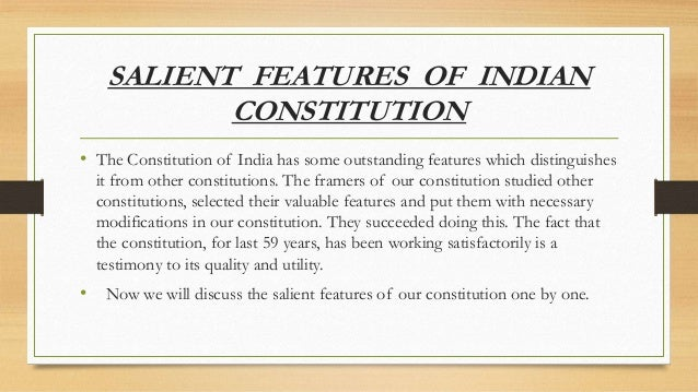 Salient Features Of Indian Constitution Essay Prompts - image 6