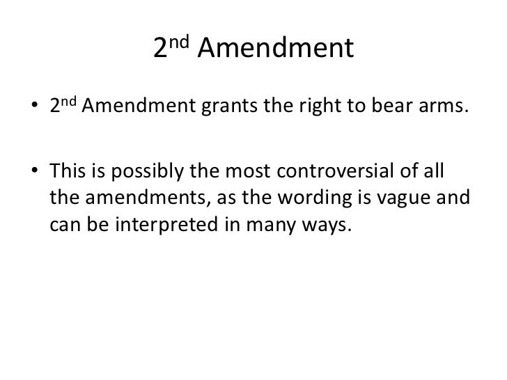 The Inevitable Incorporation of the Second Amendment.