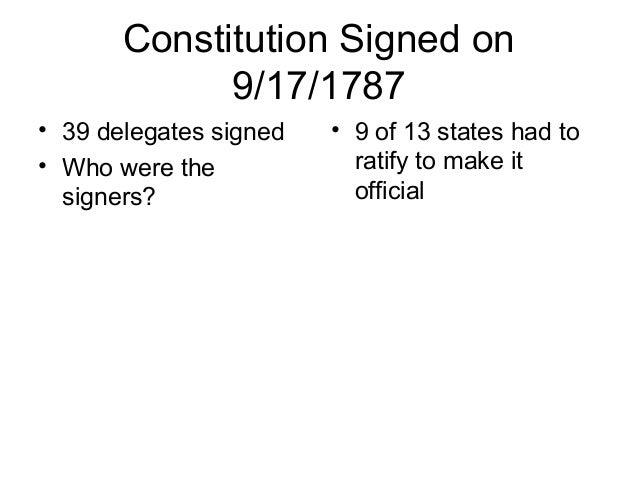 Rhode Island Didn T Sign Constitution