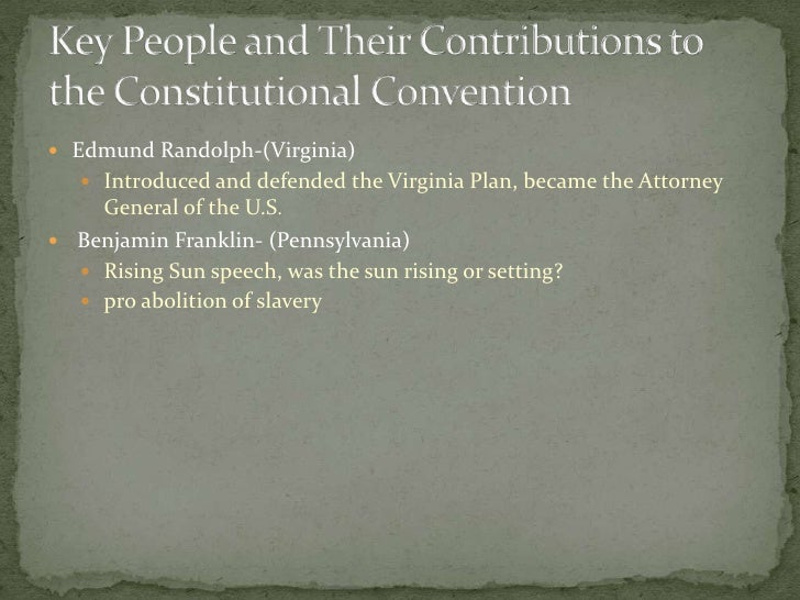 Constitutional Convention Project