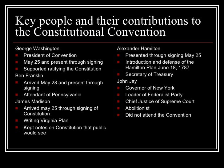 What was the reason for the Constitutional Convention?