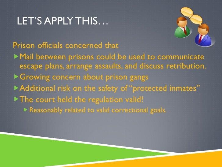 Major Goals of Corrections