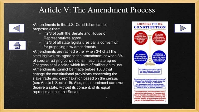 amendments in the united sates Additional amendments of the constitution download a pdf of the additional amendments the amendment process is detailed in article 5 of the constitutionamendments can be proposed in congress when two thirds of both the house and senate agree.