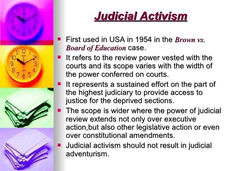judicial method activism vs formalism Formalism v realism judicial activism method of info presentation affects cognition regulators also boundedly rational so.