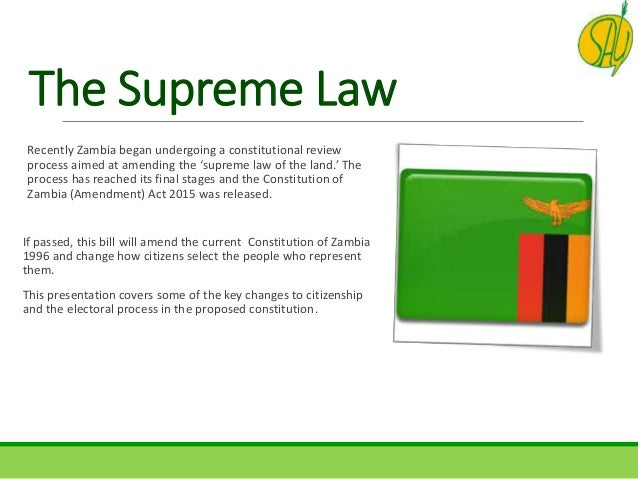 legal process in zambia Framework regulating the zambian construction industry (zci) this definition is provided by professor margaret mulela munalula in her book legal process in zambia , which is that:.