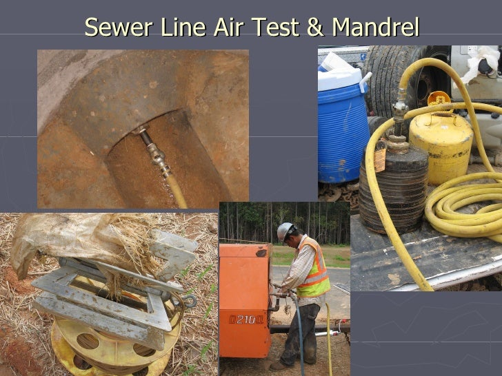 Mandrel Testing For Sewer Pipe Mandrel Testing Thuro Inc