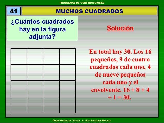 Cuantos cuadrados hay en la siguiente figura lesbos for Cuantos codones existen