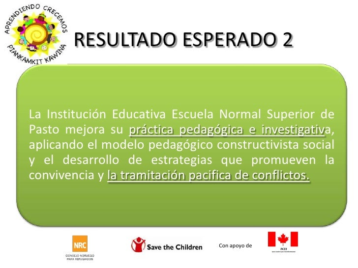 RESULTADO ESPERADO 2<br />Con apoyo de <br />