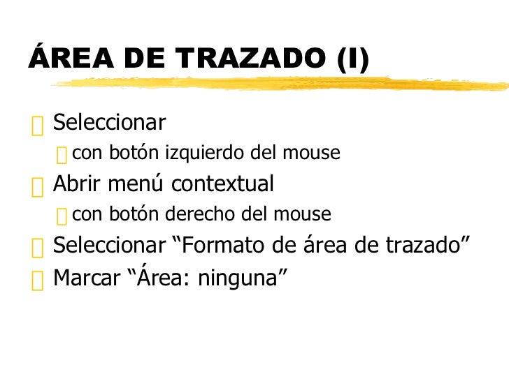 ÁREA DE TRAZADO (I) <ul><li>Seleccionar  </li></ul><ul><ul><li>con botón izquierdo del mouse </li></ul></ul><ul><li>Abrir ...