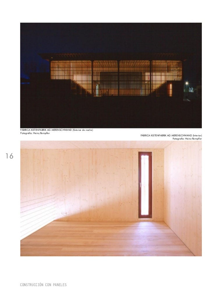 Construcci n con paneles de madera - Paneles de madera para exterior ...